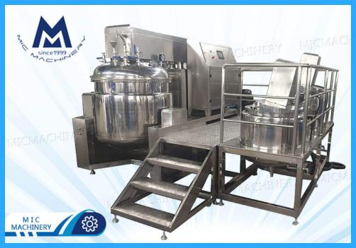 Emulsifier Homogenizer ( Vacuum emulsifier homogenizer mixer for cream)
