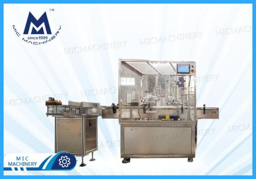 Dropper Filling Machine with a Dust Cover ( Cosmetic products )
