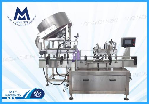 MIC-ZF1 Automatic press cap machine