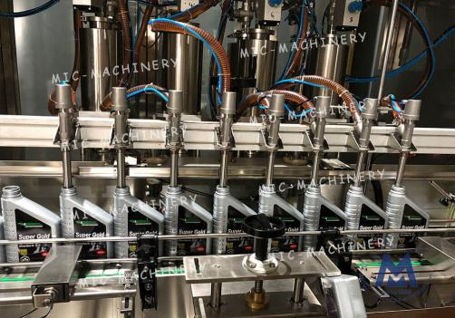 Botttle Filling Capping Machine ( High viscosity materials, Lube oil, Machine oil, Engine oil etc )
