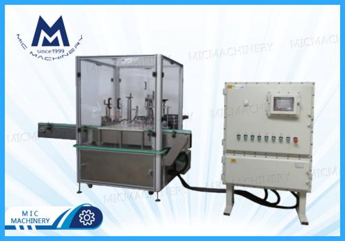 Nail polish filling and capping machine (MIC-L45 nail polish filling capping machine)