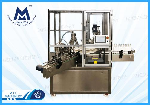 E40 Chemical spray bottle filling capping machine