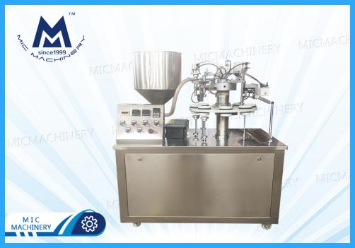 Semi-automatic Tube Filling Sealing Machine ( Toothpaste, Cream, Cosmetics, Medical caring products )