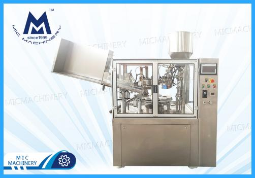 Automatic Tube Filling Machine(Toothpaste, Hair-dyeing paste, Art palette and industry)