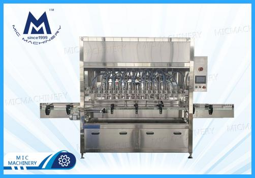 Automatic Servo Drive Motor Lubricating Lube Oil Tin Can Filling Machine