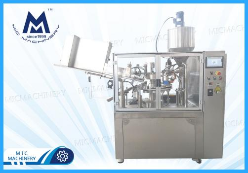 Automatic Soft Tube Filling Machine(Hand cream, Face cream, Various tube cosmetics)