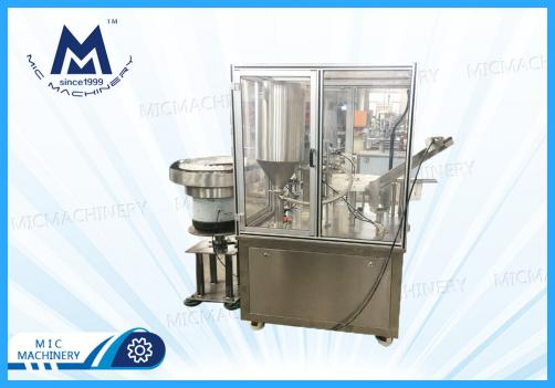 Pressure type large tube filling machine ( toothpaste )