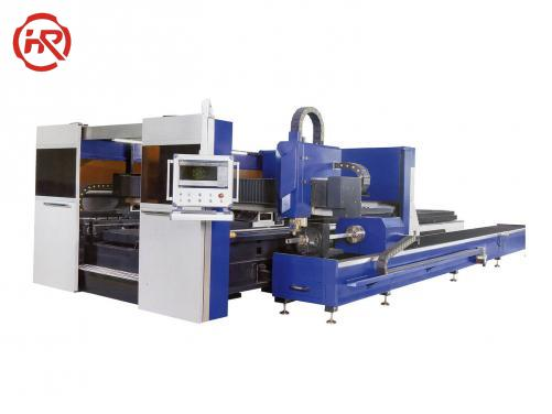 HRGBFC-Pipe And Sheet Integrated Fiber Laser Cutting Machine