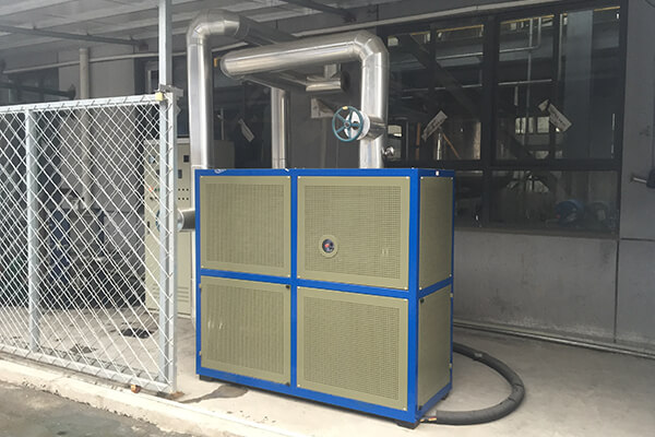 Electric Thermal Fluid System for Heating Reactor