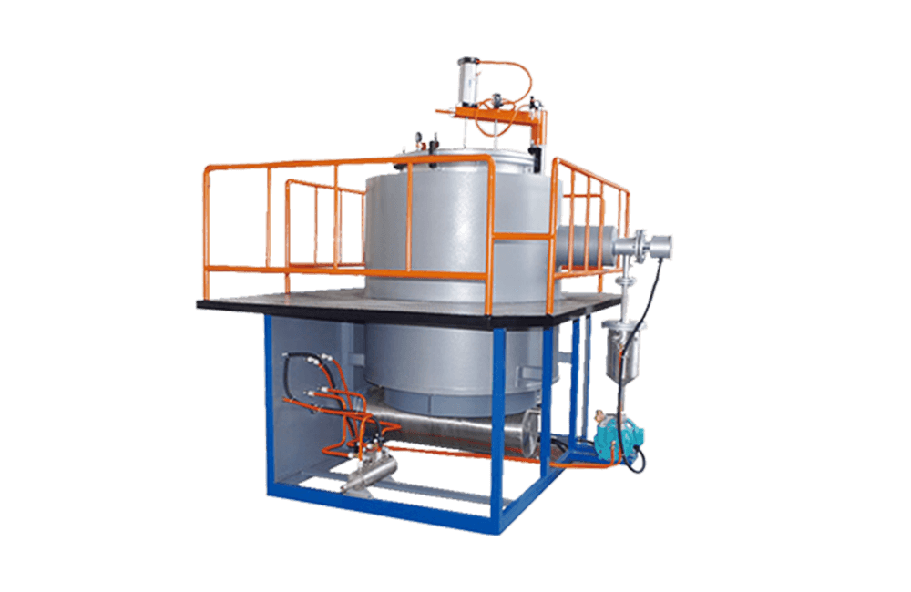 Vertical Vacuum Pyrolysis Cleaning Furnace
