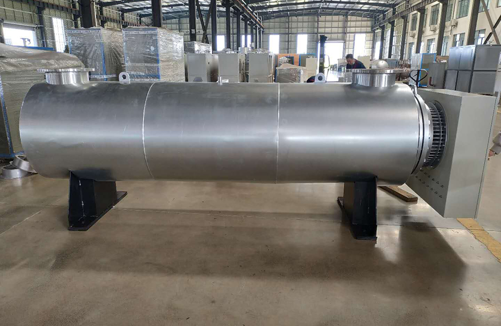 60kw electric air process duct heater for melt-blown nonwoven industry