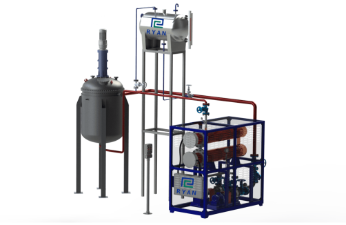 Electric Thermal Fluid (hot oil) Heaters for Reactor Vessel