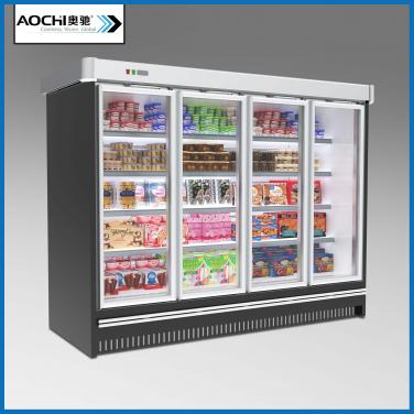 Closed Dairy Refrigerator
