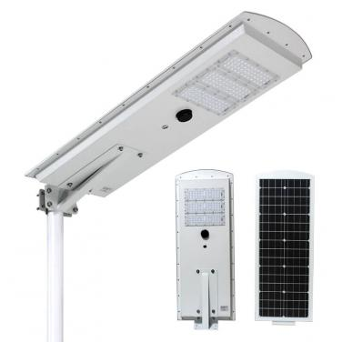 PIR Motion Sensor Integrated Solar Led Street Light With Outdoor Cctv Camera 10w 15w 20w 30w 40w 50w T141