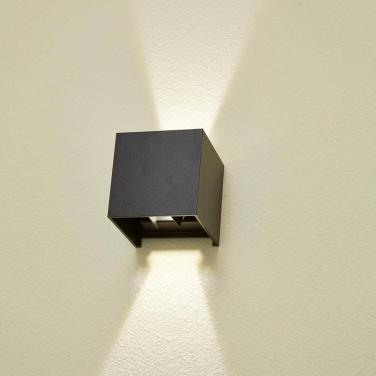 Best price adjustable square wall mounted lamp up and down modern outdoor wall lamp