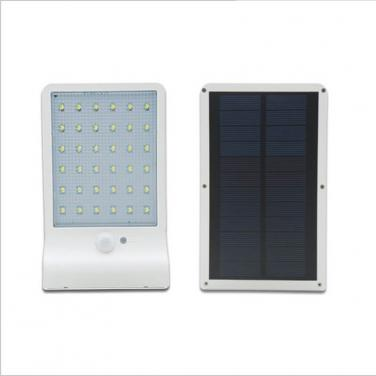 Hot Sale PIR motion sensor wall mounted outdoor garden led lights wall solar lamp