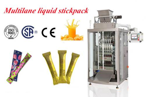 fruit juice stickpack machine