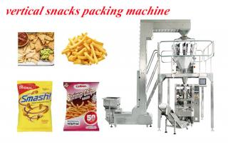 Granule Gusset Bag Packing Machine With Multi Weigher