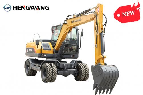 Big Sale!!! HW80L Wheel Excavator