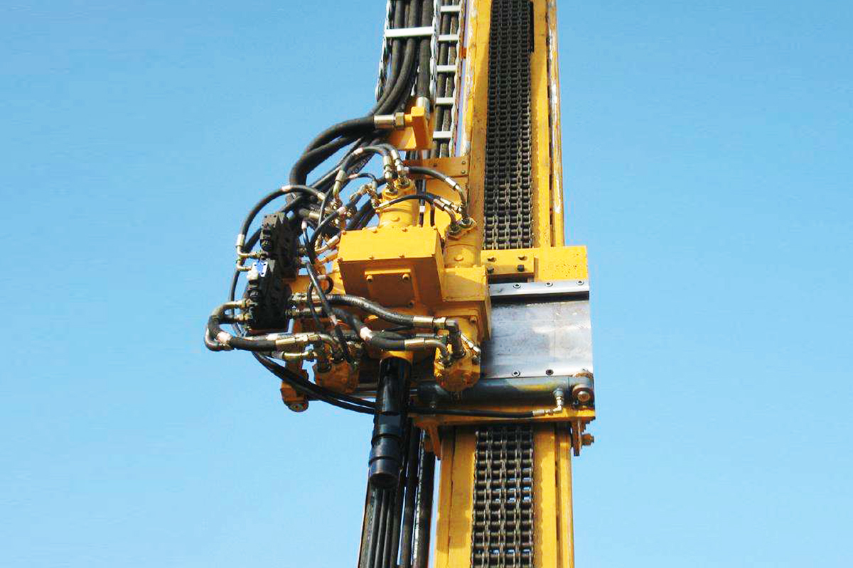 HW-4000 Full Hydraulic Diamond Core Drilling Rig