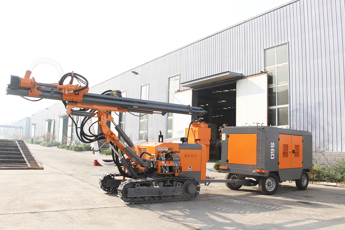 Promotion!!! HW416 Separated DTH Surface Drill Rig