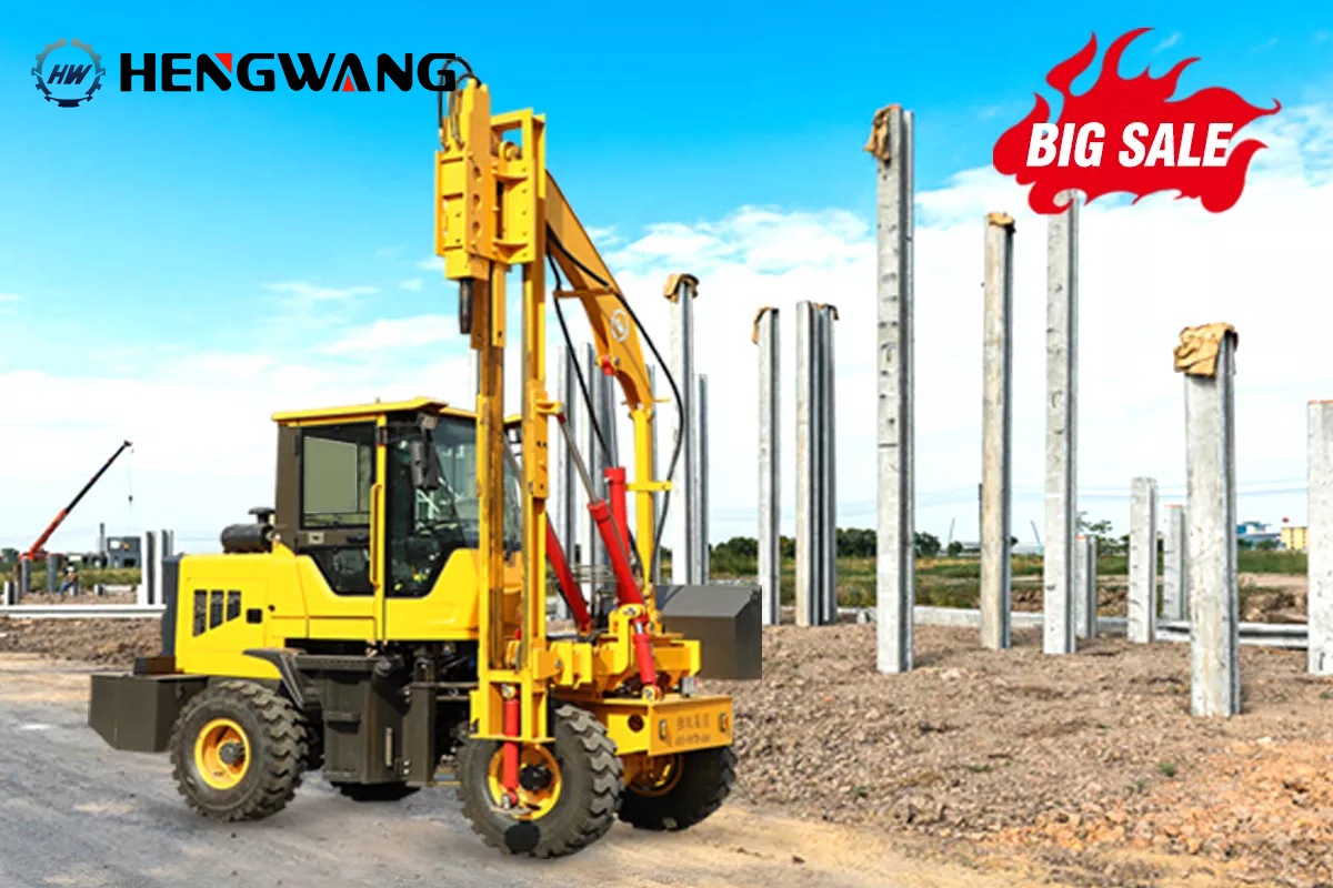 Promotion!!! HWH920 Guardrail Pile Driver
