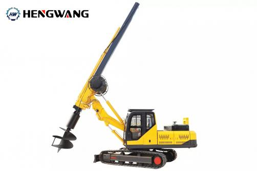 HWDR150 Crawler Rotary Pile Driver