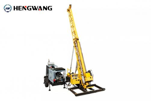 HW-4 Full Hydraulic Diamond Core Drilling Rig