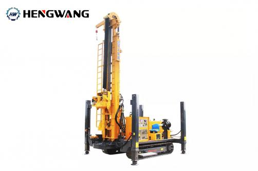 HW5/280 Crawler Water Well Drilling Rig