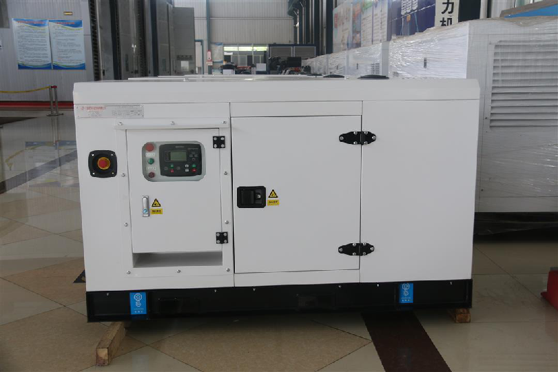 Static speaker diesel generator features