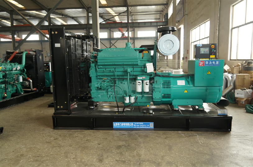 Note for diesel generator set used in hospital