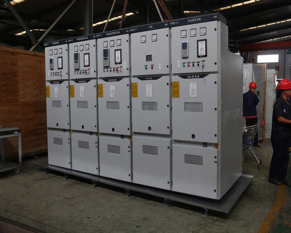 Electric control system of generator set-Automatic load switching cabinet