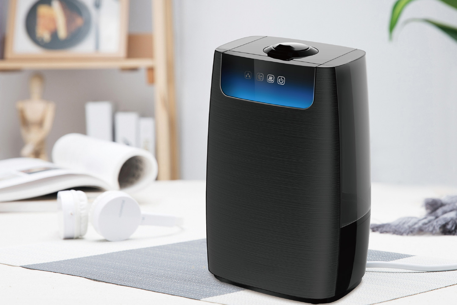 Air Purifier Humidifier with HEPA & Active Carbon Filter 502