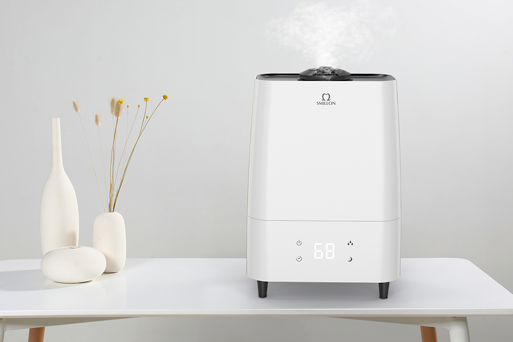 Air Purifier Humidifier with HEPA & Active Carbon Filter 603