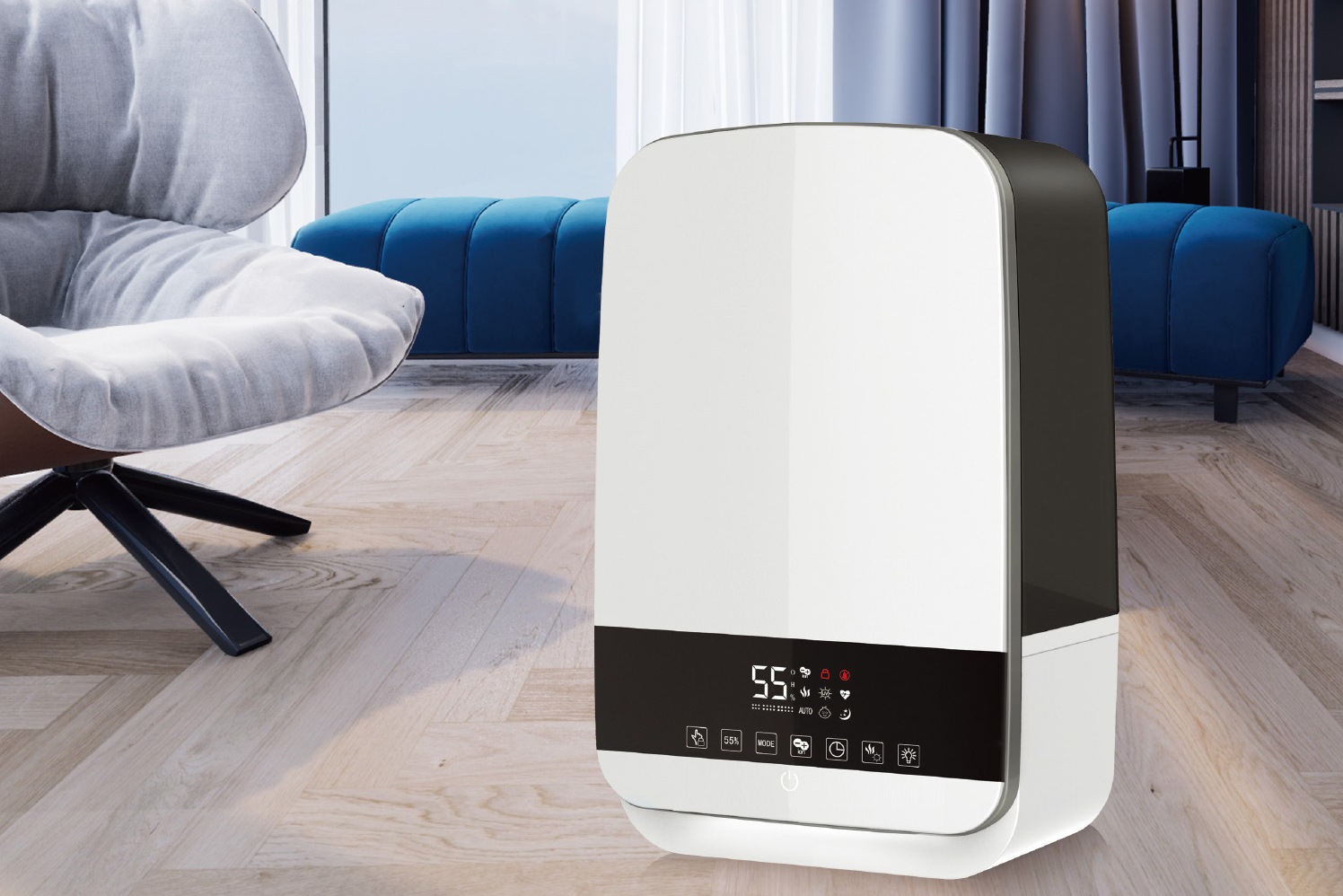 Warm & Cool Mist Humidifier SH806
