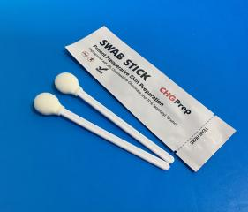 MIP-708F Skin Disinfectant Swab with Circle Foam Tip
