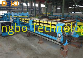 Discontinuous PU Sandwich Panel Line
