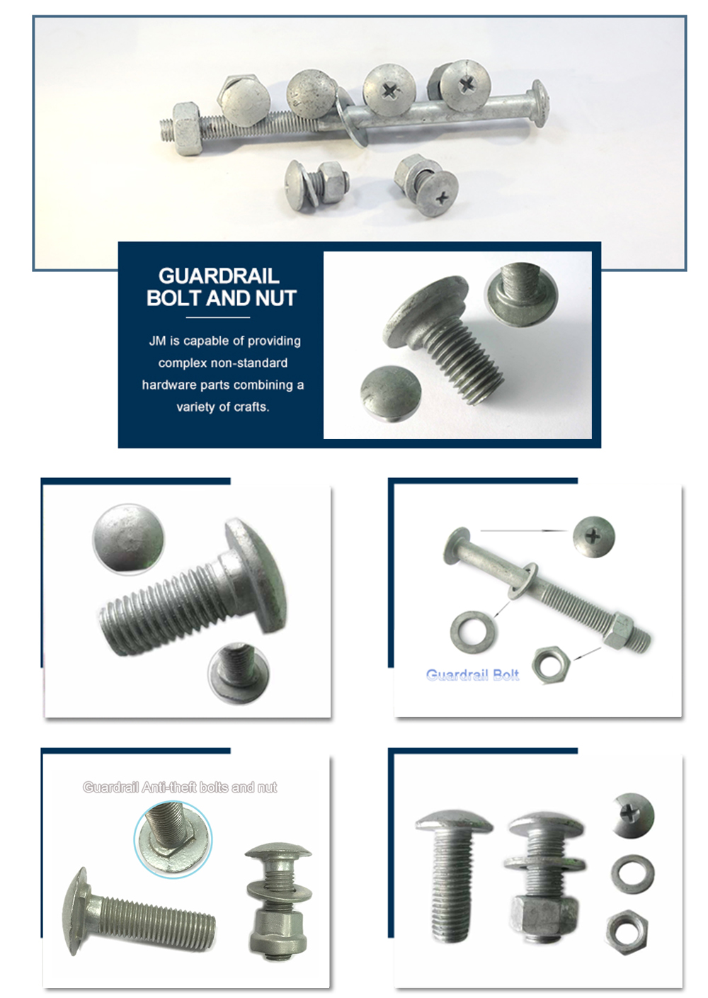 the details of Guardrail Bolt
