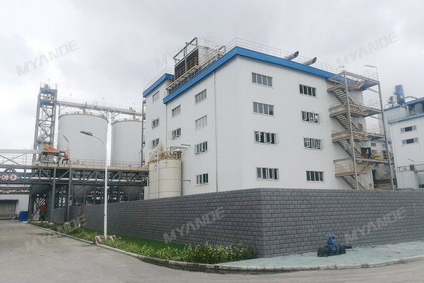 Wilmar rice bran oil plant by Myande