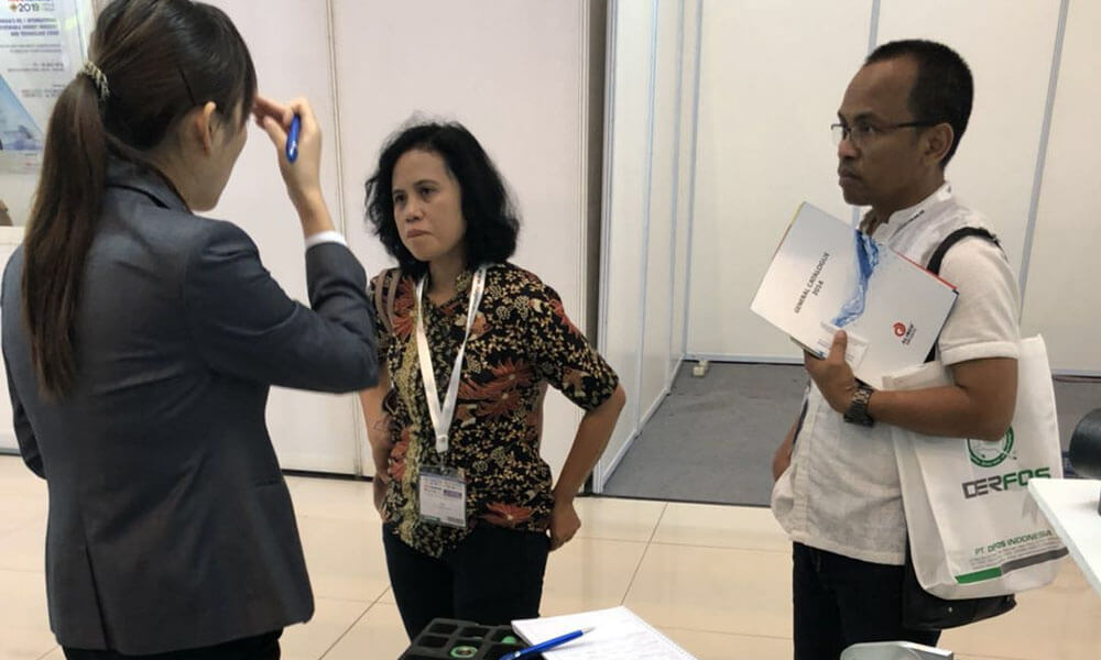 The REHOME Team Participated In The INDOWATER Water Treatment Exhibition In Indonesia.